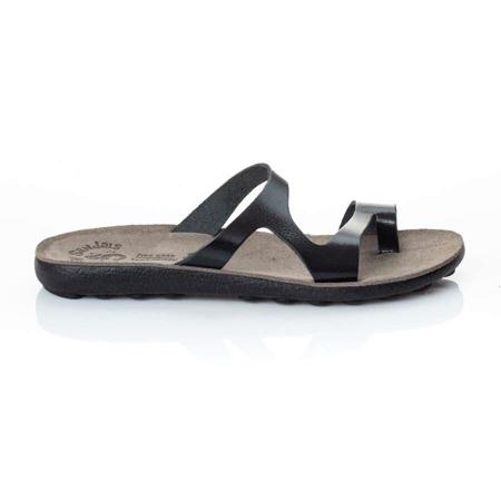 Picture of Fantasy Sandals S410 ZAIRA BLACK PATMOS