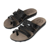 Picture of Fantasy Sandals S400 MARA BLACK SPLASH