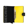 Picture of Secrid Miniwallet Matte Black & Yellow