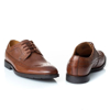 Picture of Clarks RONNIE LIMIT BRITISH TAN LEATHER 26143813