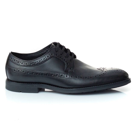Picture of Clarks RONNIE LIMIT BLACK LEATHER 26143811