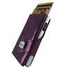 Picture of Tru Virtu Click & Slide Glitter Blackberry/Silver 24104000125