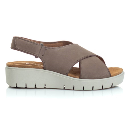 Picture of Clarks UN KARELY SUN TAUPE NUBUCK 26151045