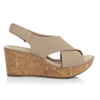 Picture of Clarks ANNADEL PARKER SAND SUEDE 26150565