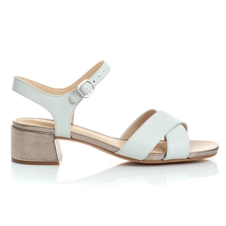 Picture of Clarks SHEER35 STRAP WHITE COMBI 26148425