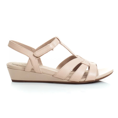 Picture of Clarks ABIGAIL DAISY BLUSH LEATHER 26150081