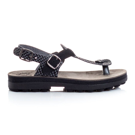Picture of Fantasy Sandals S9005 MARLENA BLACK COMBRA