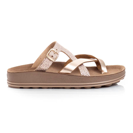 Picture of Fantasy Sandals S307 ARIADNI ROSEGOLD ROCK