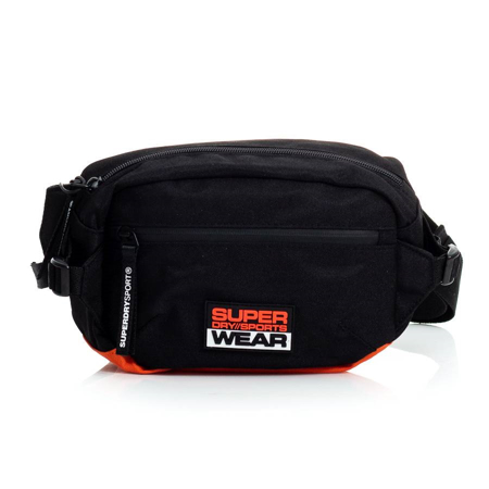 Picture of Superdry SPORT BUMBAG MS400003A 02A BLACK
