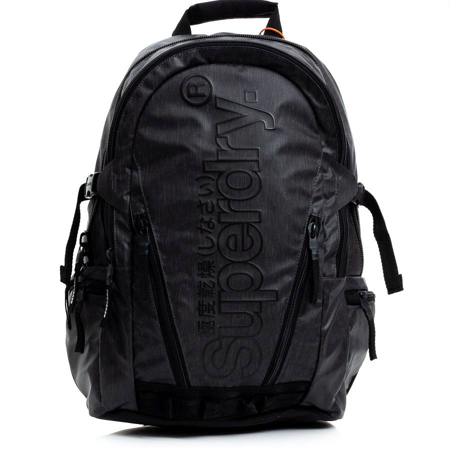 Picture of Superdry TARP BACKPACK M9110026A 02A BLACK