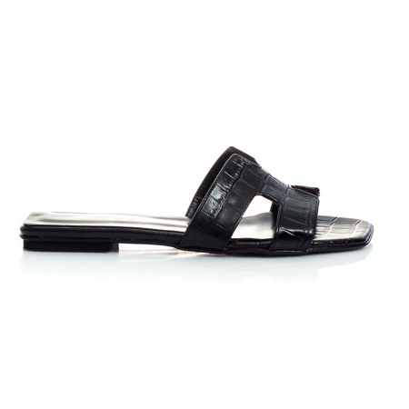 Picture of She Collection 186-180-20 BLACK CROCO