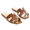 Picture of She Collection 186-180-20 CAMEL CROCO