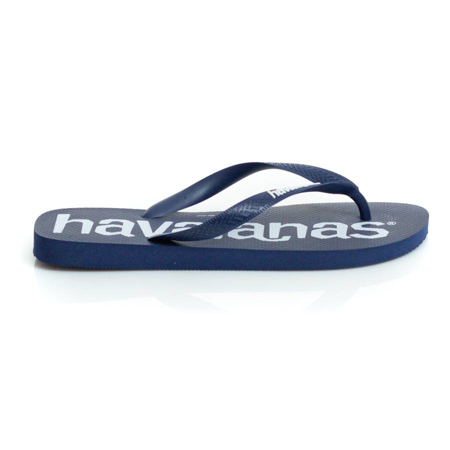 Picture of Havaianas 4144264-0555 TOP LOGOMANIA NAVY
