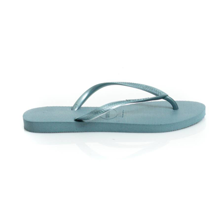 Picture of Havaianas 4000030-7606  SLIM LOGO BLUE
