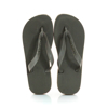 Picture of Havaianas 4127244-1154 TOP LOGO METALLIC OLIVE