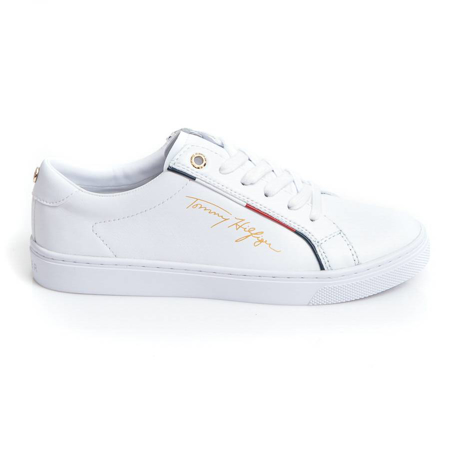 Picture of Tommy Hilfiger FW0FW05015 YBR WHITE
