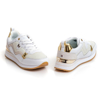 Picture of Tommy Hilfiger FW0FW05010 0K7 WHITE/LIGHT GOLD