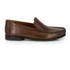 Picture of Clarks CLAUDE PLAIN Brown Leather 26124314
