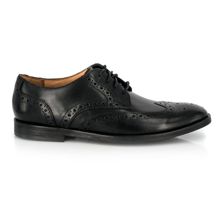 Picture of Clarks BROYD LIMIT Black Leather 26124607