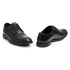 Picture of Clarks RONNIE CAP BLACK LEATHER 26148025