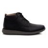 Picture of Clarks UN LARVIK TOP2 BLACK LEATHER 26155079