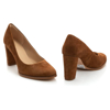 Picture of Clarks KAYLIN CARA 2 DARK TAN SUEDE 26151165