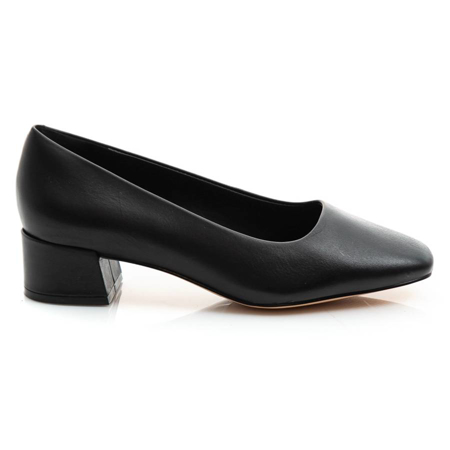 Picture of Clarks SHEER35 COURT2 BLACK LEATHER 26154709