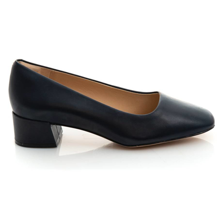 Picture of Clarks SHEER35 COURT2 NAVY LEATHER 26151418