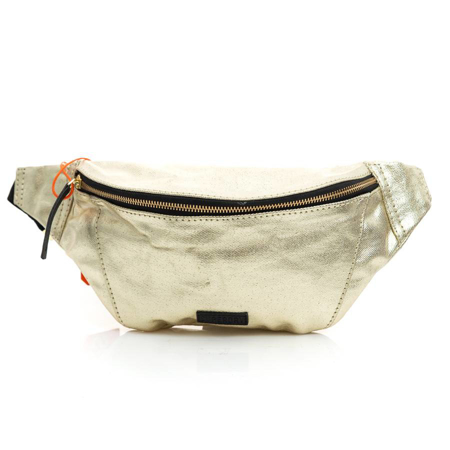 Picture of Superdry METALLIC BUM BAG W9110012A R0R GOLD FOIL