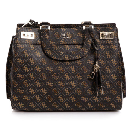 Picture of Guess KATEY HWSG787007 Brown Multi