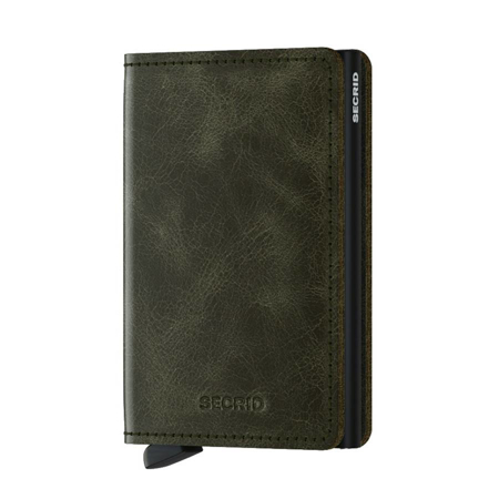 Picture of Secrid Slimwallet Vintage Olive-Black