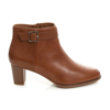Picture of Clarks Kaylin 60 Dark Tan Leather 26150979