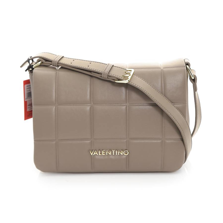 Picture of Valentino Bags VBS4I303 TAUPE