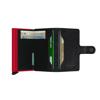 Picture of Secrid Miniwallet Veg Black Red