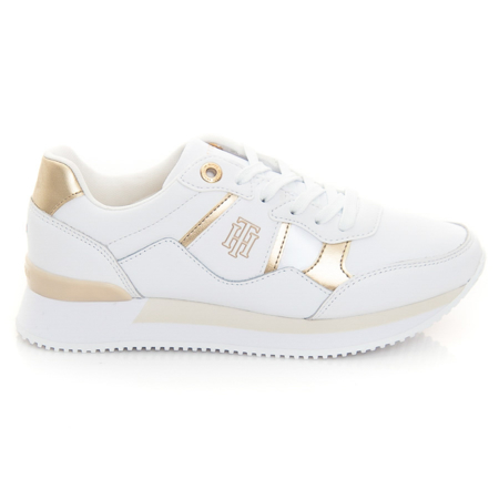 Picture of Tommy Hilfiger FW0FW05558 YBR WHITE