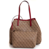Picture of Guess VIKKY LARGE TOTE HWSG699524 Brown