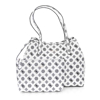 Picture of Guess VIKKY TOTE HWPQ699523 White Black