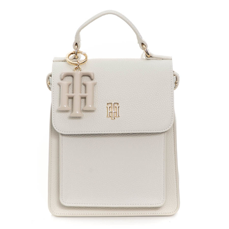 Picture of Tommy Hilfiger AW0AW09837 AF2 WHITE DOVE