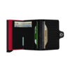 Picture of Secrid Twinwallet Cubic Black - Red