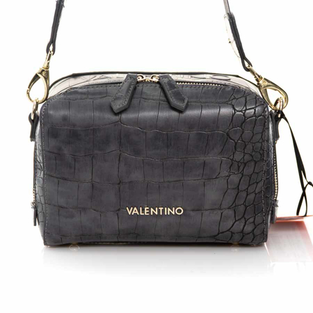 Picture of Valentino Bags VBS52901 ANTRACITE