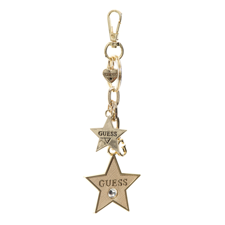 Picture of Guess KEYRING STAR LOGO CHARMS RW7380P110 GOLD