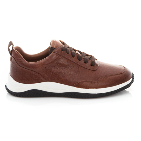 Picture of Clarks Puxton Lace 26157828 Tan Leather