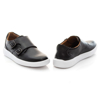 Picture of Clarks Cambro Monk 26158238 Black Leather