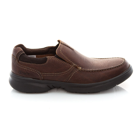 Picture of Clarks Bradley Free 26154366 Tan Tumbled
