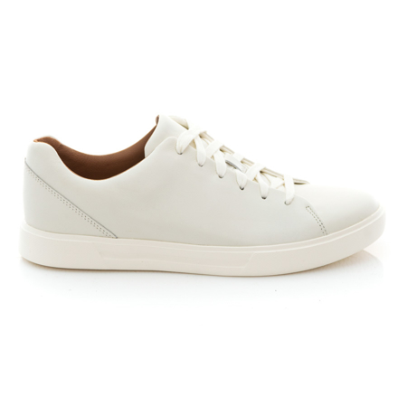 Picture of Clarks Un Costa Lace 26140164 White Leather