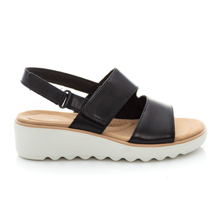 Picture of Clarks Jillian Pearl 26157734 Black Leather