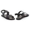Picture of Clarks Karsea Strap 26158679 Black Leather