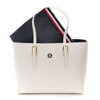 Picture of Tommy Hilfiger AW0AW09657 AF2 WHITE DOVE