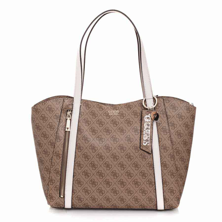 Picture of Guess Naya HWBL788123 Latte/Stone