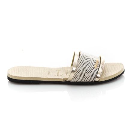 Picture of Havaianas 4146063 0154 You Trancoso Premium Sand Grey